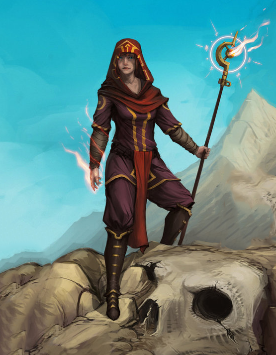 Arabian Nights wizard